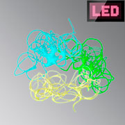 Светодиодное волокно EL wire 2mm, 2m