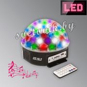 Световой прибор LED BC-8 Beam effect MP3