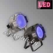 УФ прожектор LED ML-56 COB UV 80W Floor
