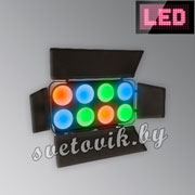 Блендер LED PMC-8x30W COB RGB MFL