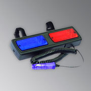 Мигалка Strobe police beacon, for R V mirror, 12V